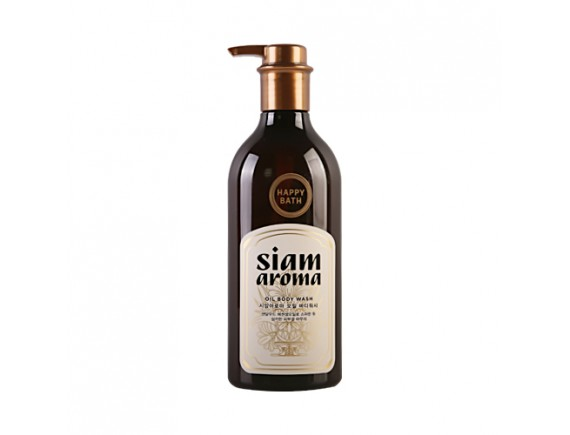 [HAPPY BATH] Siam Aroma Oil Body Wash - 650ml