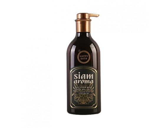 [HAPPY BATH] Siam Aroma Salt Scrub Wash - 650ml