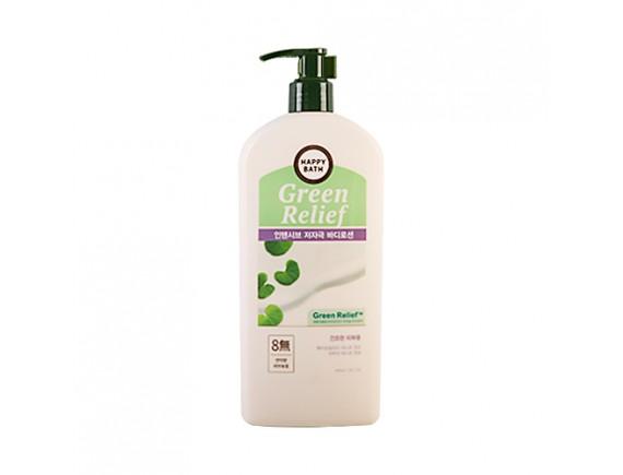 [HAPPY BATH] Green Relief Intensive Body Lotion - 400ml