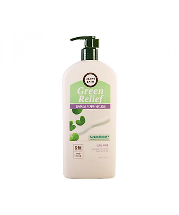 W-[HAPPY BATH] Green Relief Intensive Body Lotion - 400ml x 10ea
