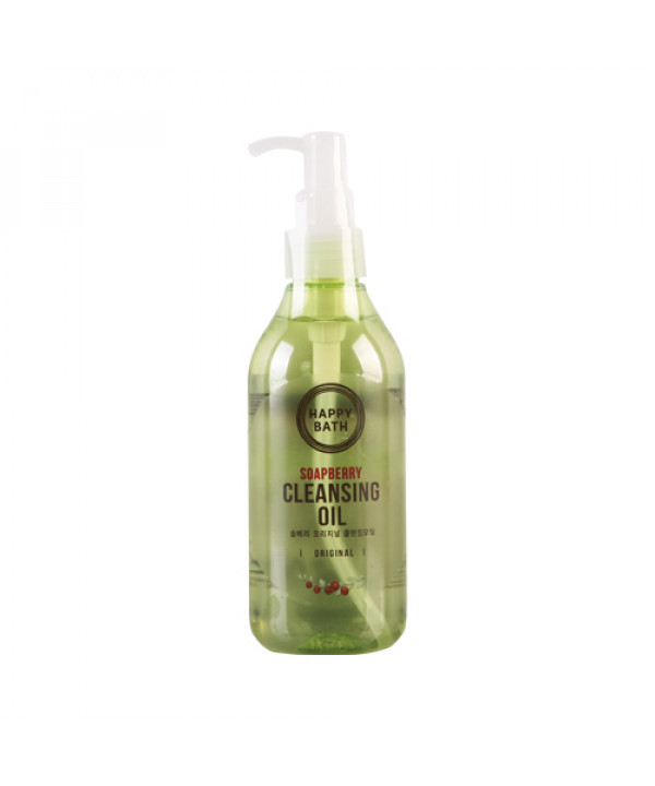 [HAPPY BATH] Soapberry Cleansing Oil - 200ml