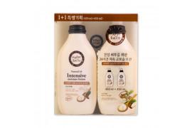 W-[HAPPY BATH] Natural 24 Shea Butter Intensive Moisture Lotion 1+1 Set - 1pack x 10ea