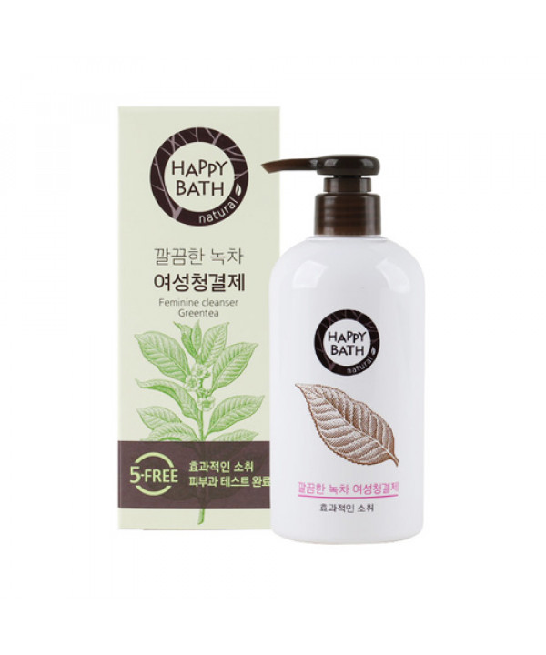 [HAPPY BATH] Feminine Cleanser Green Tea - 200ml