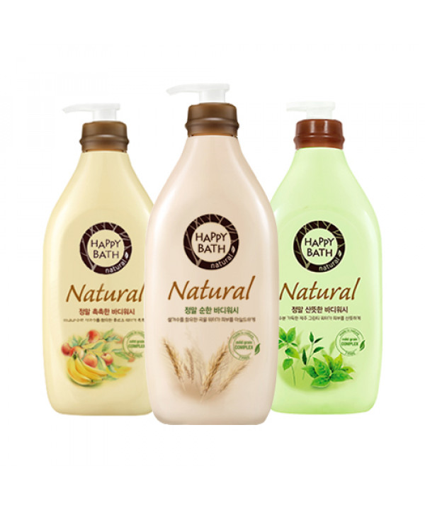 [HAPPY BATH] Natural Body Wash - 500g