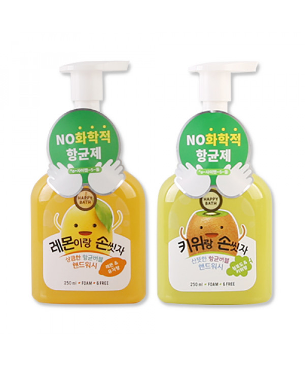 [HAPPY BATH] Juice Smoothie Bubble Hand Wash - 250ml