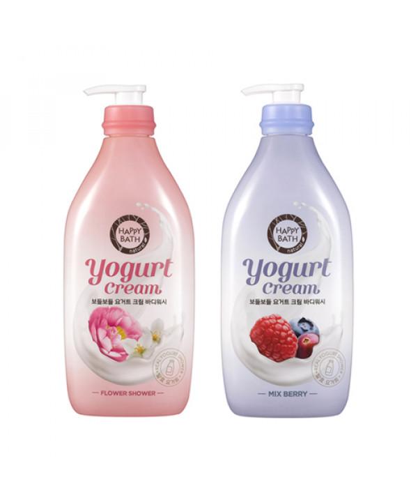 [HAPPY BATH] Yogurt Cream Body Wash - 900g