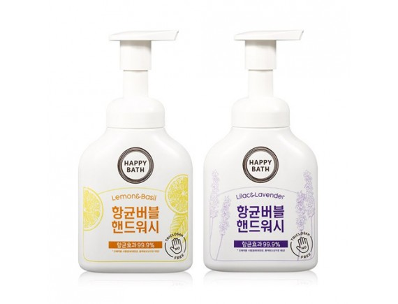 [HAPPY BATH] Bubble Handwash (New) - 250ml