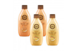 [HAPPY BATH] 1+1 Natural Body Oil - 250ml