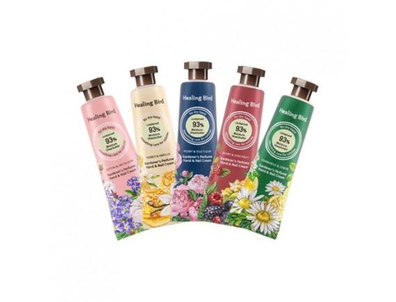 [Healing Bird] Gardener's Perfume Hand & Nail Cream - 30ml