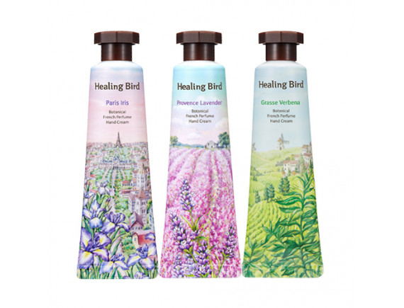 [Healing Bird] Botanical French Perfume Hand Cream - 30ml