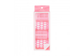 W-[HELLO TALK TOK] Extension Pink Hair Rollers - 1pack (4pcs) x 10ea