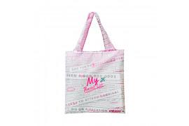 [HELLO TALK TOK_45% SALE] Bucket List Eco Bag - 1pcs