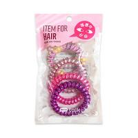 [HELLO TALK TOK] Spring Hair Band (2020) - 1pack (5pcs) No.Pink Gradation