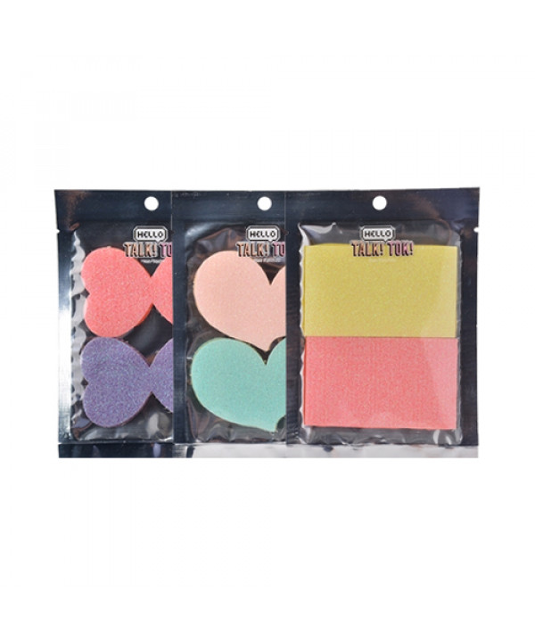[HELLO TALK TOK] Hair Patches - 1pack (2pcs)