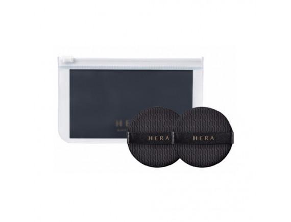 [HERA] Black Cushion Puff - 1pack (2pcs)