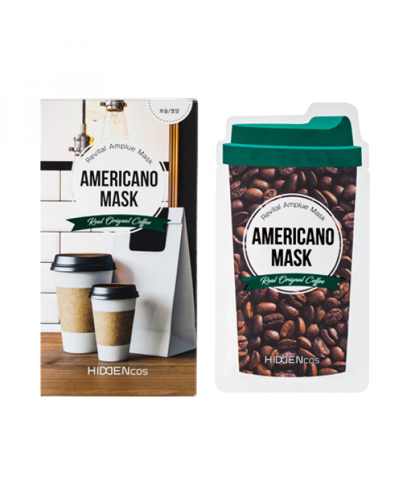 [HIDDENcos] Americano Mask - 1pcs