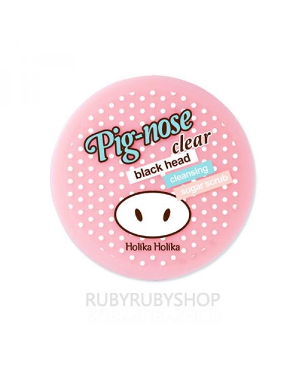 [Holika Holika] Pig-nose Clear Black Head Cleansing Sugar Scrub