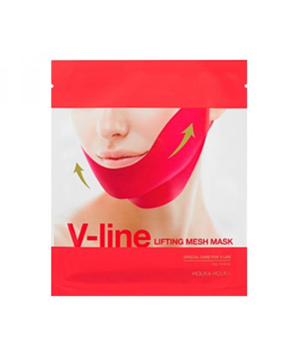 W-[Holika Holika] V Line Lifting Mesh Mask - 1pcs x 10ea