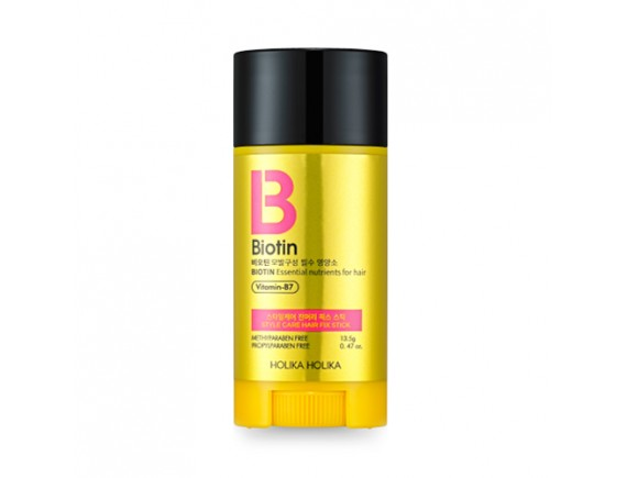 [Holika Holika] Biotin Style Care Hair Fix Stick - 13.5g