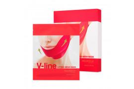 W-[Holika Holika] V Line Lifting Mesh Mask - 1pack (5pcs) x 10ea