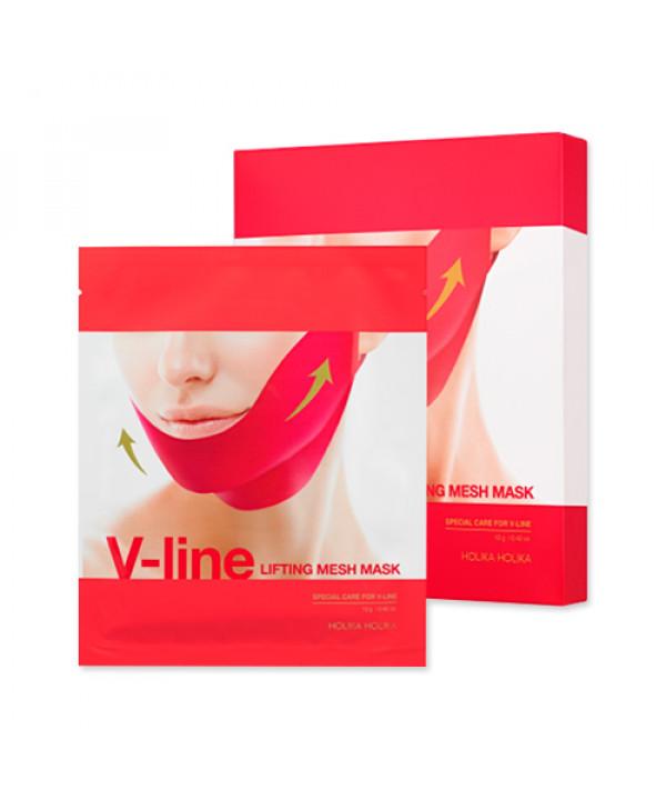 [Holika Holika] V Line Lifting Mesh Mask - 1pack (5pcs)