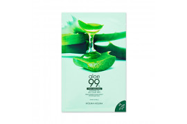 W-[Holika Holika] Aloe 99% Soothing Gel Jelly Mask Sheet - 1pcs x 10ea