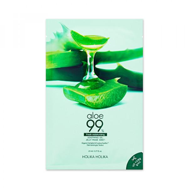 [Holika Holika] Aloe 99% Soothing Gel Jelly Mask Sheet - 1pcs
