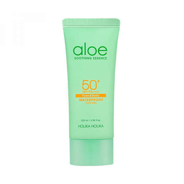 [Holika Holika] Aloe Waterproof Sun Gel - 100ml (SPF50+ PA++++)