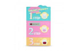 [Holika Holika] Golden Monkey Glamour Lip 3 Step Kit - 1pcs