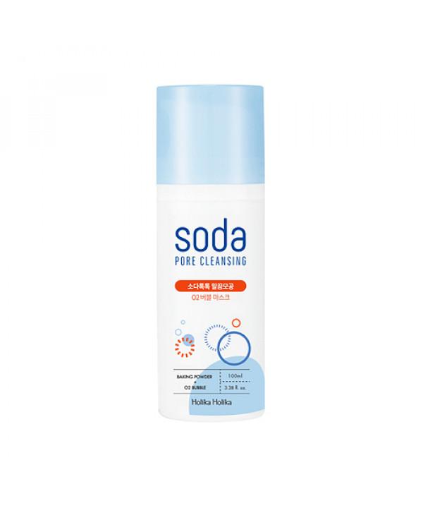 W-[Holika Holika] Soda Pore Cleansing O2 Bubble Mask - 100ml x 10ea
