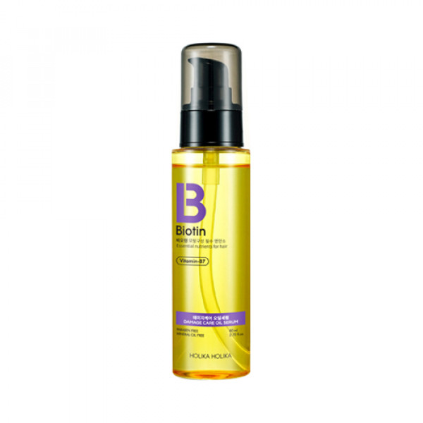 [Holika Holika] Biotin Damage Care Oil Serum - 80ml