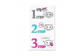 W-[Holika Holika] Pig Nose Clear Black Head 3 Step Kit (No Water) - 1pcs x 10ea