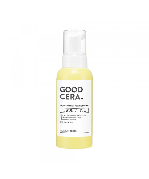 [Holika Holika] Good Cera Super Ceramide Foaming Wash - 160ml