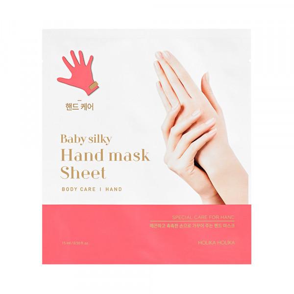 [Holika Holika] Baby Silky Hand Mask Sheet - 1pcs