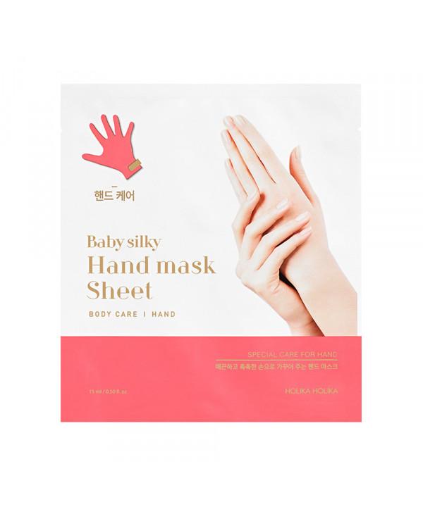 W-[Holika Holika] Baby Silky Hand Mask Sheet - 1pcs x 10ea