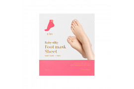 W-[Holika Holika] Baby Silky Foot Mask Sheet - 1pcs x 10ea