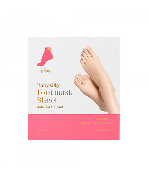 [Holika Holika] Baby Silky Foot Mask Sheet - 1pcs