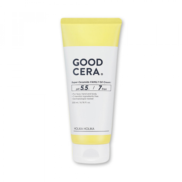 [Holika Holika] Good Cera Super Ceramide Family Oil Cream - 200ml