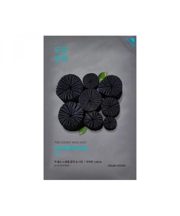 [Holika Holika] Pure Essence Mask Sheet - 1pcs No.Charcoal