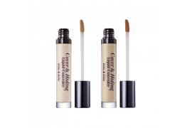[Holika Holika] Cover & Hiding Liquid Concealer - 1pcs
