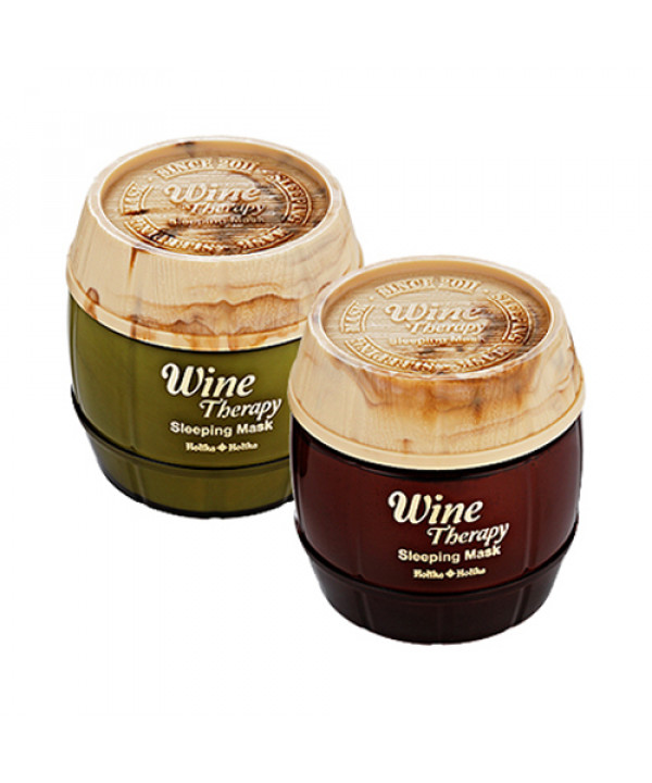 W-[Holika Holika] Wine Therapy Sleeping Mask - 120ml x 10ea