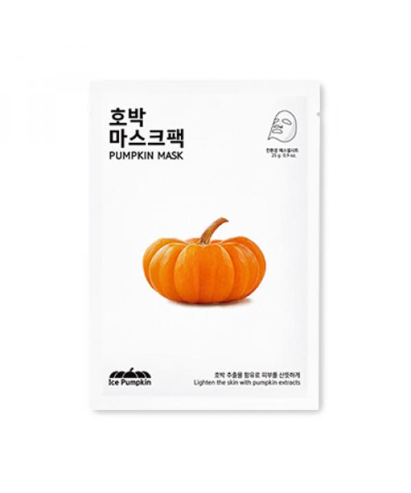 [ICE PUMPKIN] Pumpkin Facial Mask - 1pcs