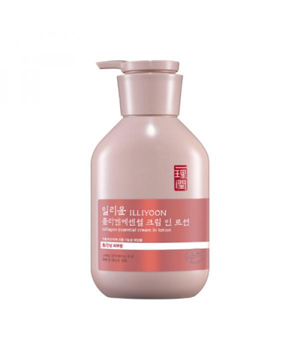 [ILLIYOON] Collagen Essential Cream In Lotion - 350ml
