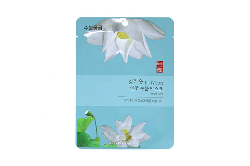 [ILLIYOON] Lotus Moisture Mask - 1pcs