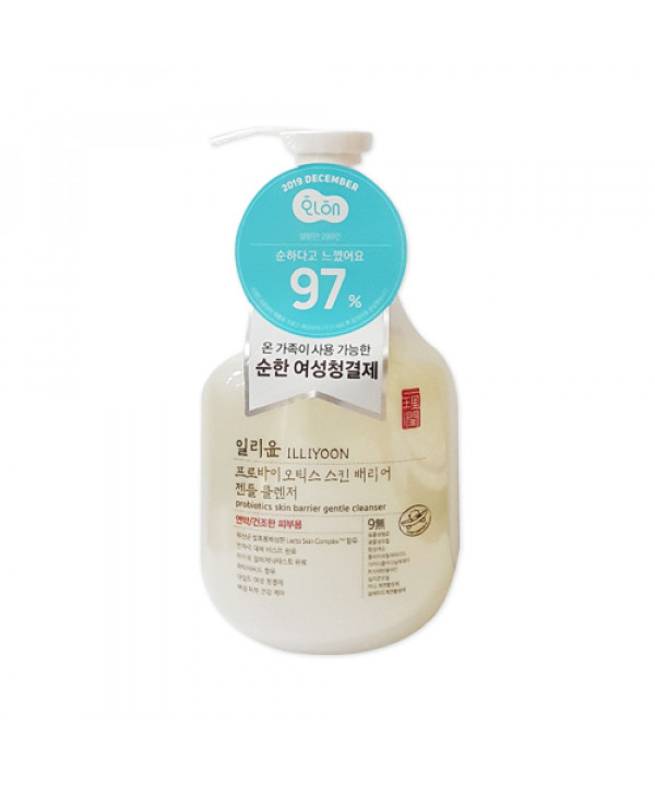 [ILLIYOON] Probiotics Skin Barrier Gentle Cleanser - 300ml
