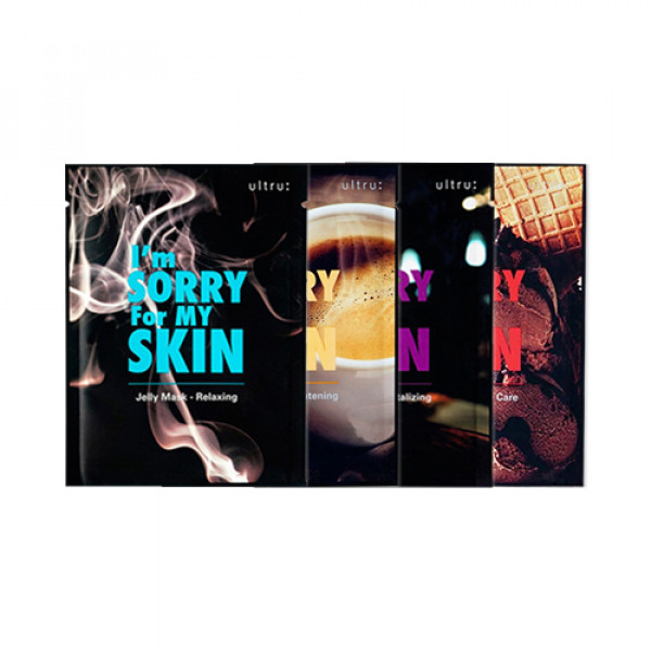 [I'm Sorry For My Skin] Jelly Mask - 3pcs