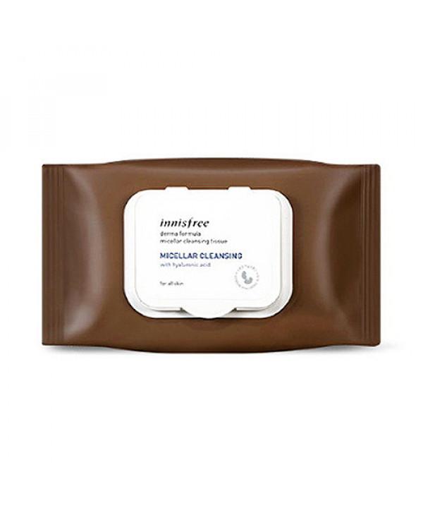 [INNISFREE] Derma Formula Micellar Cleansing Tissue - 1pack (30sheets)