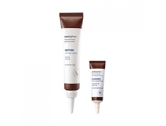 [INNISFREE] Derma Formula Peeling Cream - 40ml (+ Skin Barrier Cream 10ml)