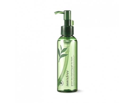 [INNISFREE] Green Tea Cleansing Gel To Foam - 150ml