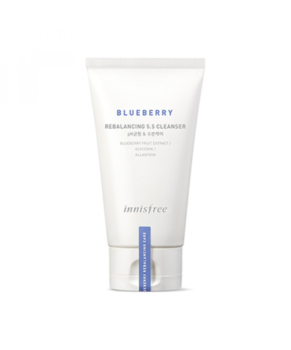 [INNISFREE] Blueberry Rebalancing 5.5 Cleanser - 100ml (New)